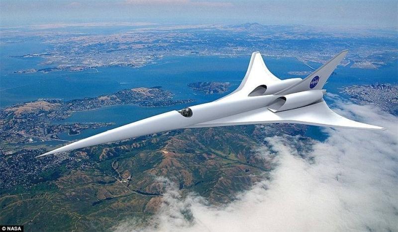 大展弦比的直机翼飞机,在飞行速度接近声速时,会出现阻力剧增,操纵